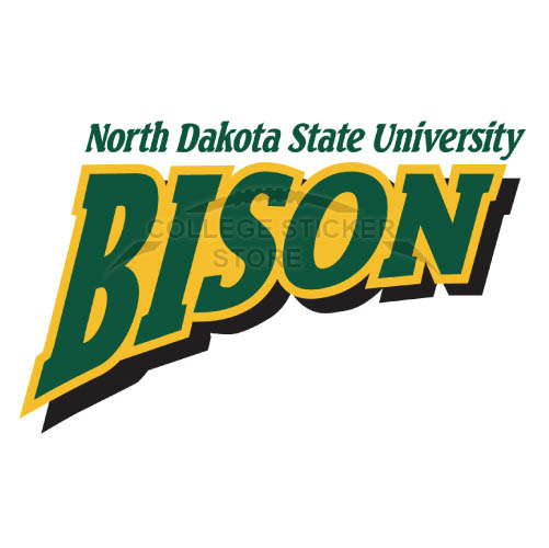 Personal North Dakota State Bison Iron-on Transfers (Wall Stickers)NO.5594