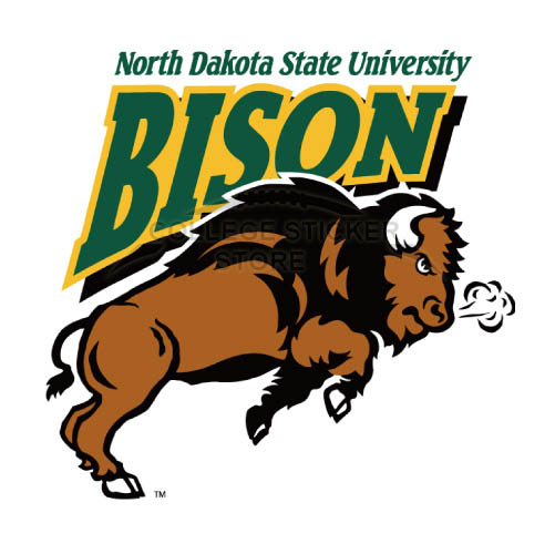 Personal North Dakota State Bison Iron-on Transfers (Wall Stickers)NO.5595