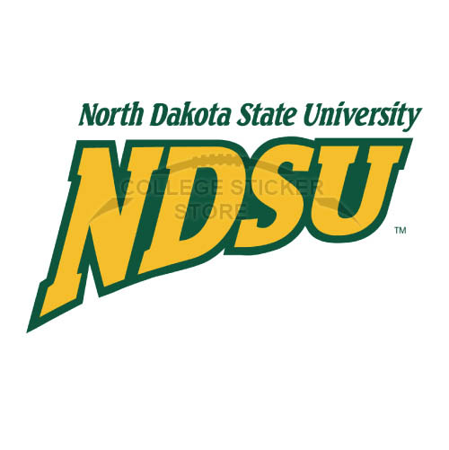 Personal North Dakota State Bison Iron-on Transfers (Wall Stickers)NO.5597