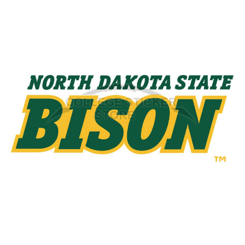 Personal North Dakota State Bison Iron-on Transfers (Wall Stickers)NO.5598