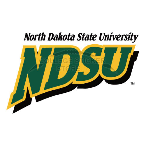 Personal North Dakota State Bison Iron-on Transfers (Wall Stickers)NO.5603