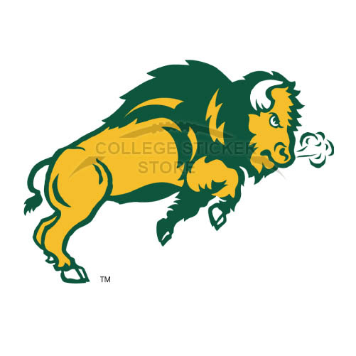 Personal North Dakota State Bison Iron-on Transfers (Wall Stickers)NO.5604