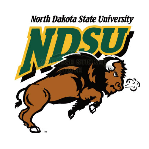 Personal North Dakota State Bison Iron-on Transfers (Wall Stickers)NO.5605