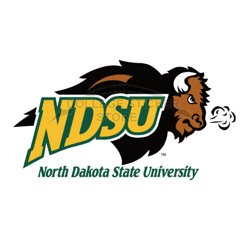 Personal North Dakota State Bison Iron-on Transfers (Wall Stickers)NO.5606