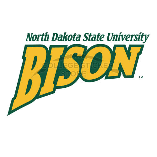 Personal North Dakota State Bison Iron-on Transfers (Wall Stickers)NO.5607
