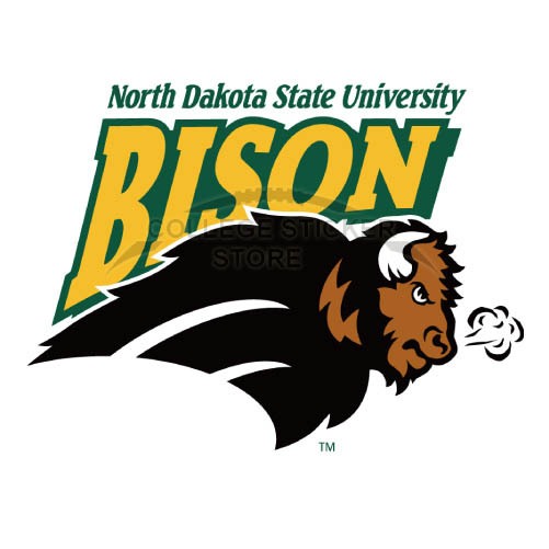 Personal North Dakota State Bison Iron-on Transfers (Wall Stickers)NO.5608
