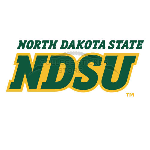 Personal North Dakota State Bison Iron-on Transfers (Wall Stickers)NO.5609