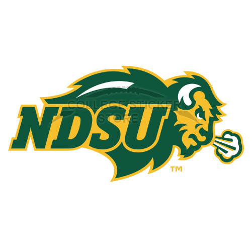Personal North Dakota State Bison Iron-on Transfers (Wall Stickers)NO.5611