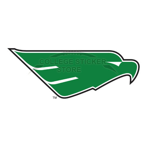 Personal North Texas Mean Green Iron-on Transfers (Wall Stickers)NO.5617