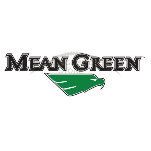 Personal North Texas Mean Green Iron-on Transfers (Wall Stickers)NO.5618