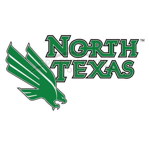 Personal North Texas Mean Green Iron-on Transfers (Wall Stickers)NO.5620