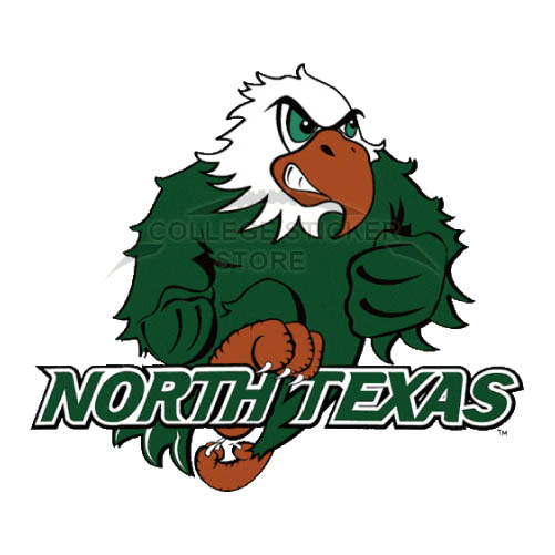 Personal North Texas Mean Green Iron-on Transfers (Wall Stickers)NO.5625