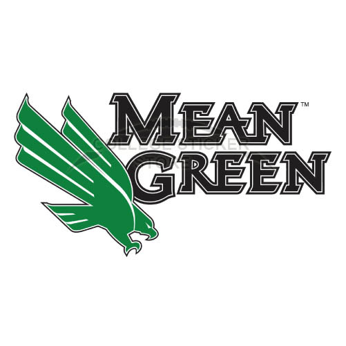 Personal North Texas Mean Green Iron-on Transfers (Wall Stickers)NO.5626