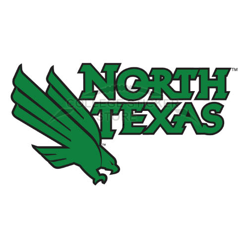 Personal North Texas Mean Green Iron-on Transfers (Wall Stickers)NO.5627