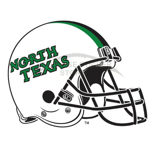 Personal North Texas Mean Green Iron-on Transfers (Wall Stickers)NO.5628