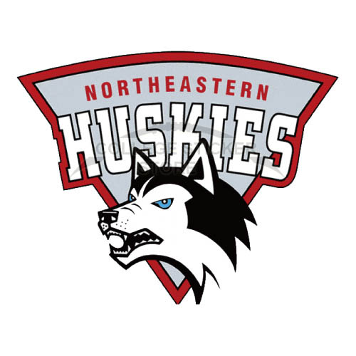 Personal Northeastern Huskies Iron-on Transfers (Wall Stickers)NO.5630