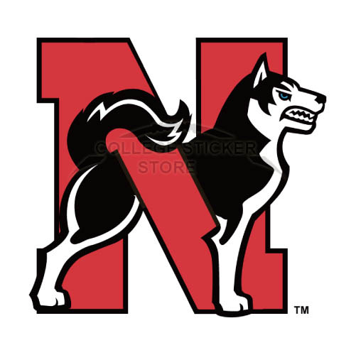 Personal Northeastern Huskies Iron-on Transfers (Wall Stickers)NO.5631