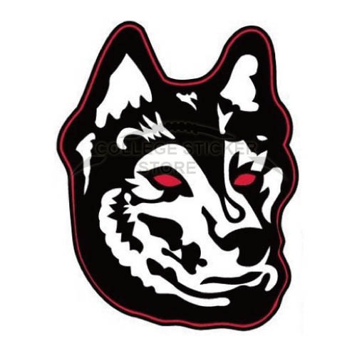 Personal Northeastern Huskies Iron-on Transfers (Wall Stickers)NO.5633