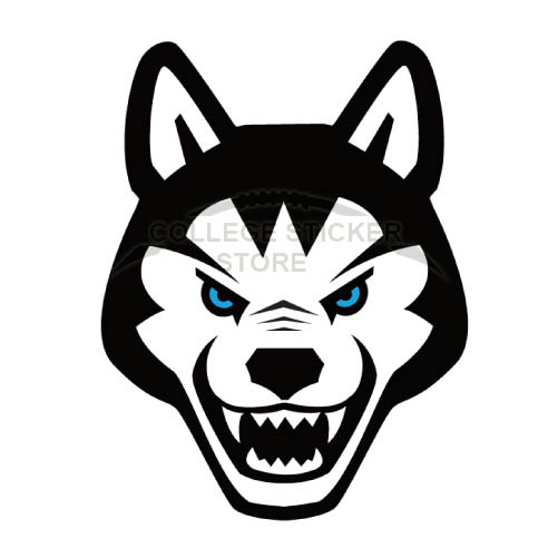 Personal Northeastern Huskies Iron-on Transfers (Wall Stickers)NO.5639