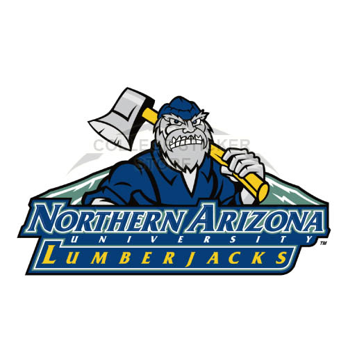 Personal Northern Arizona Lumberjacks Iron-on Transfers (Wall Stickers)NO.5645