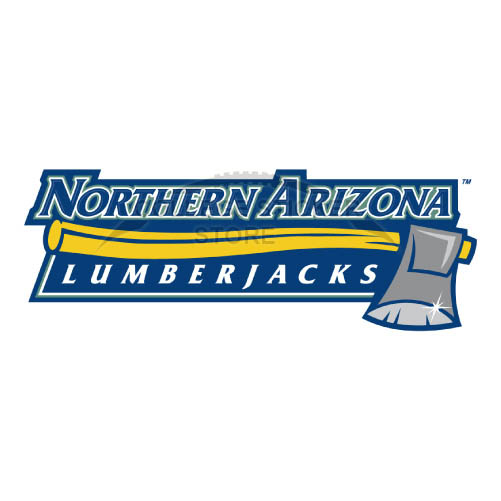 Personal Northern Arizona Lumberjacks Iron-on Transfers (Wall Stickers)NO.5647