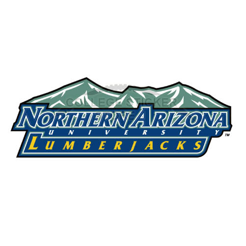 Personal Northern Arizona Lumberjacks Iron-on Transfers (Wall Stickers)NO.5648
