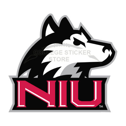 Personal Northern Illinois Huskies Iron-on Transfers (Wall Stickers)NO.5664