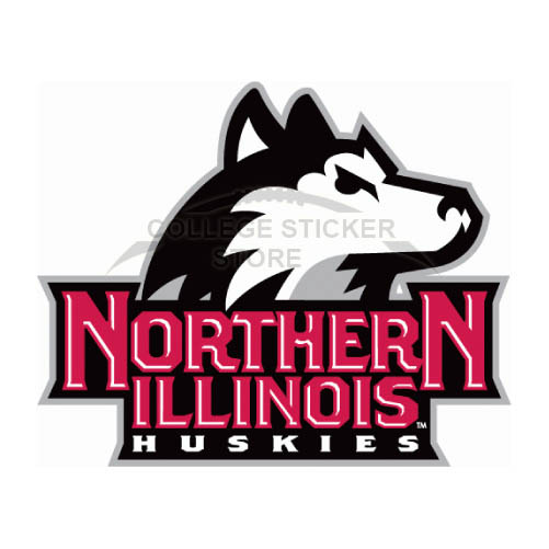 Personal Northern Illinois Huskies Iron-on Transfers (Wall Stickers)NO.5666