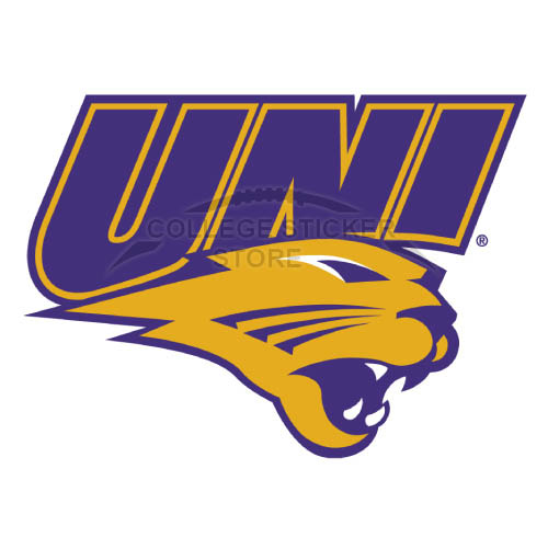 Personal Northern Iowa Panthers Iron-on Transfers (Wall Stickers)NO.5678