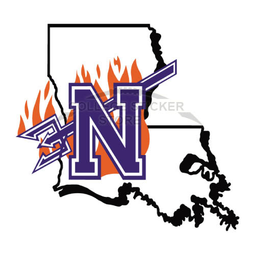 Personal Northwestern State Demons Iron-on Transfers (Wall Stickers)NO.5693