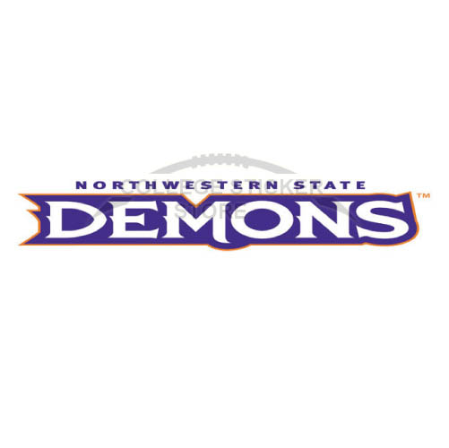 Personal Northwestern State Demons Iron-on Transfers (Wall Stickers)NO.5696