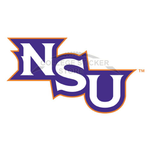 Personal Northwestern State Demons Iron-on Transfers (Wall Stickers)NO.5698
