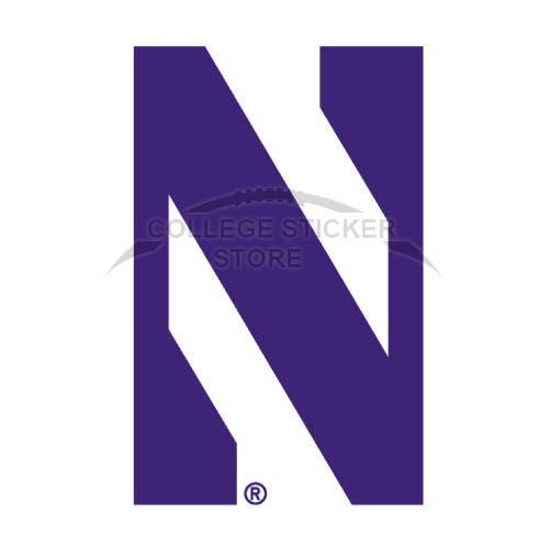 Personal Northwestern Wildcats Iron-on Transfers (Wall Stickers)NO.5702