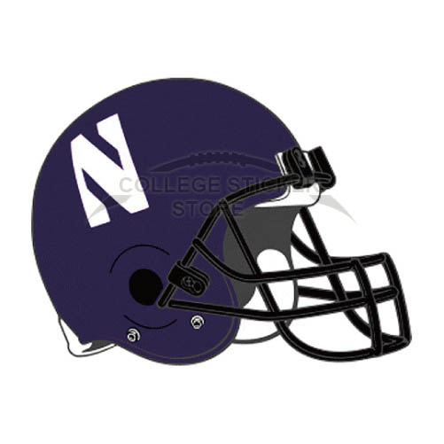 Personal Northwestern Wildcats Iron-on Transfers (Wall Stickers)NO.5707