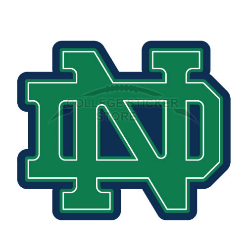 Personal Notre Dame Fighting Irish Iron-on Transfers (Wall Stickers)NO.5710