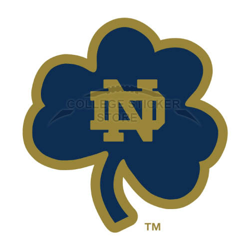 Personal Notre Dame Fighting Irish Iron-on Transfers (Wall Stickers)NO.5717