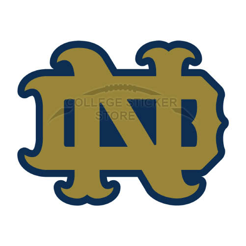 Personal Notre Dame Fighting Irish Iron-on Transfers (Wall Stickers)NO.5721