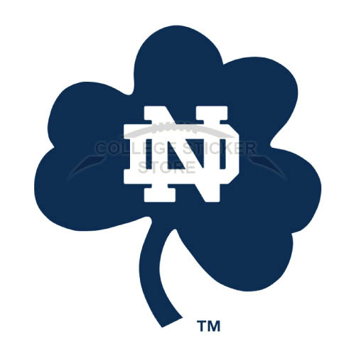 Personal Notre Dame Fighting Irish Iron-on Transfers (Wall Stickers)NO.5727
