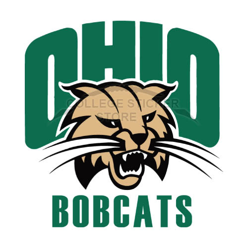 Personal Ohio Bobcats Iron-on Transfers (Wall Stickers)NO.5737