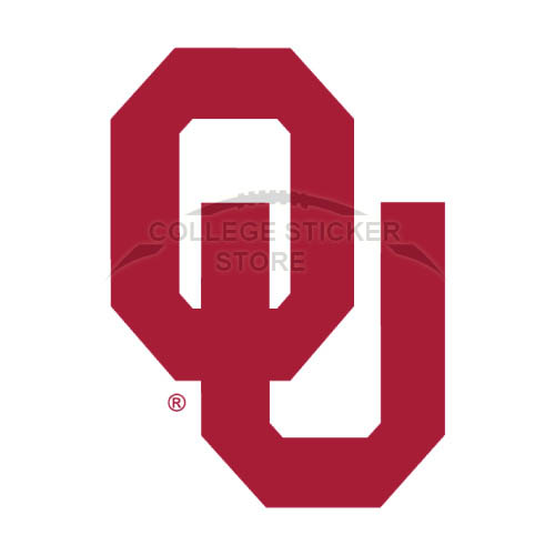 Personal Oklahoma Sooners Iron-on Transfers (Wall Stickers)NO.5764