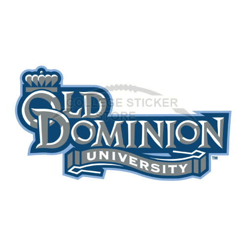 Personal Old Dominion Monarchs Iron-on Transfers (Wall Stickers)NO.5784