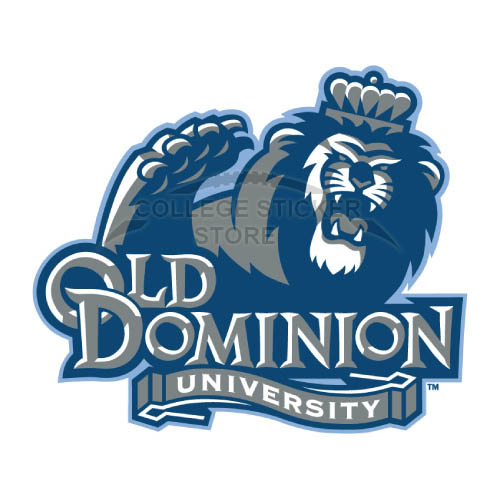 Personal Old Dominion Monarchs Iron-on Transfers (Wall Stickers)NO.5785