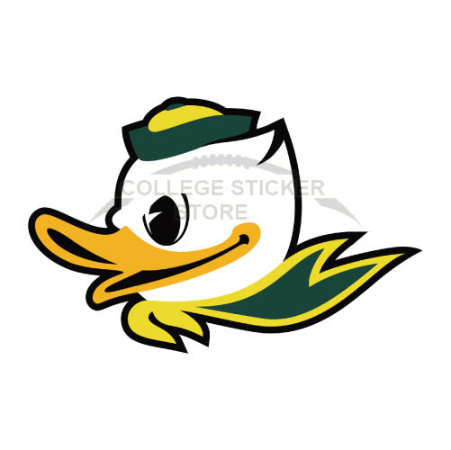 Personal Oregon Ducks Iron-on Transfers (Wall Stickers)NO.5792