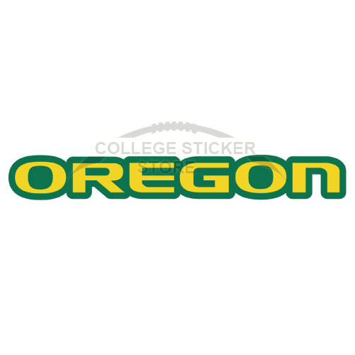 Personal Oregon Ducks Iron-on Transfers (Wall Stickers)NO.5794