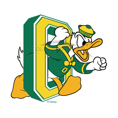 Personal Oregon Ducks Iron-on Transfers (Wall Stickers)NO.5796
