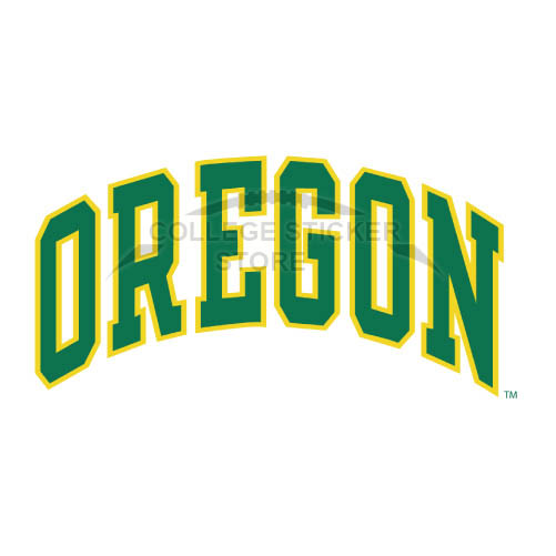 Personal Oregon Ducks Iron-on Transfers (Wall Stickers)NO.5804