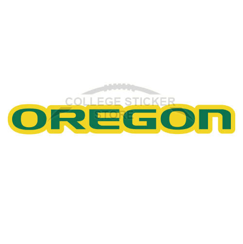 Personal Oregon Ducks Iron-on Transfers (Wall Stickers)NO.5805