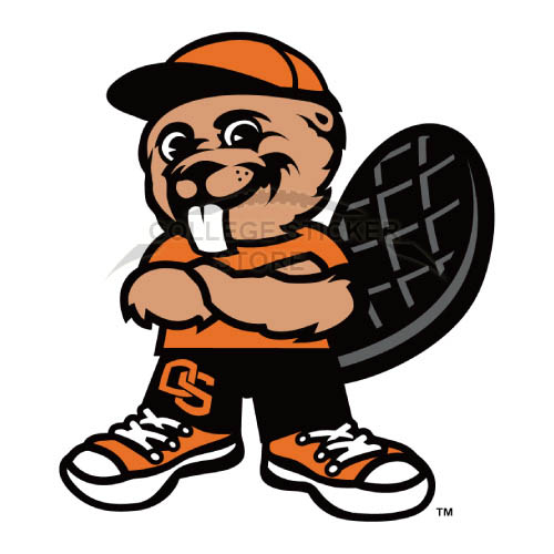 Personal Oregon State Beavers Iron-on Transfers (Wall Stickers)NO.5806