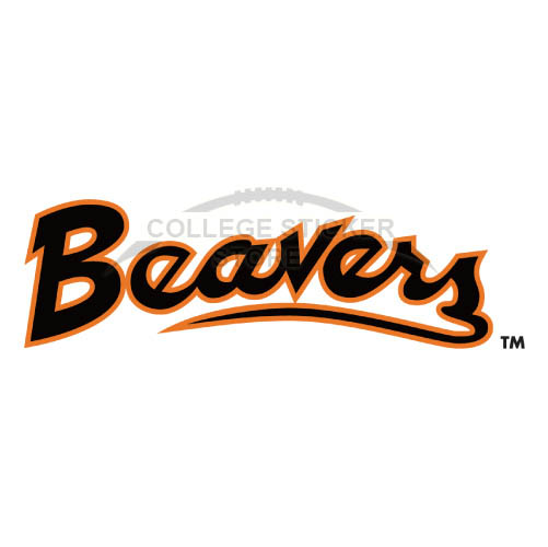 Personal Oregon State Beavers Iron-on Transfers (Wall Stickers)NO.5807