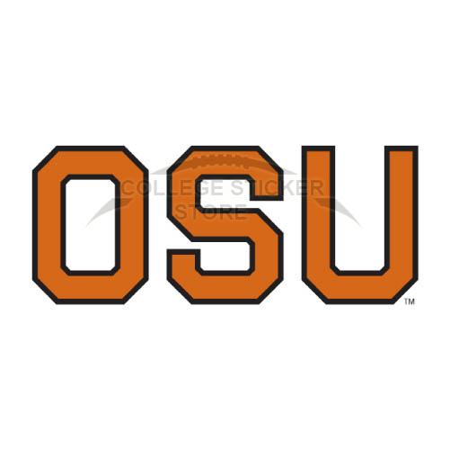 Personal Oregon State Beavers Iron-on Transfers (Wall Stickers)NO.5809